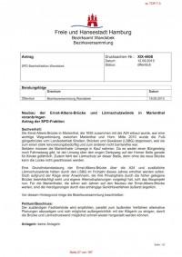 SPD-Antrag Ernst-Albers-Brücke